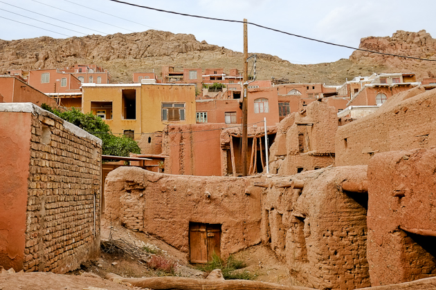 The gentle slopes of Abyaneh Iran