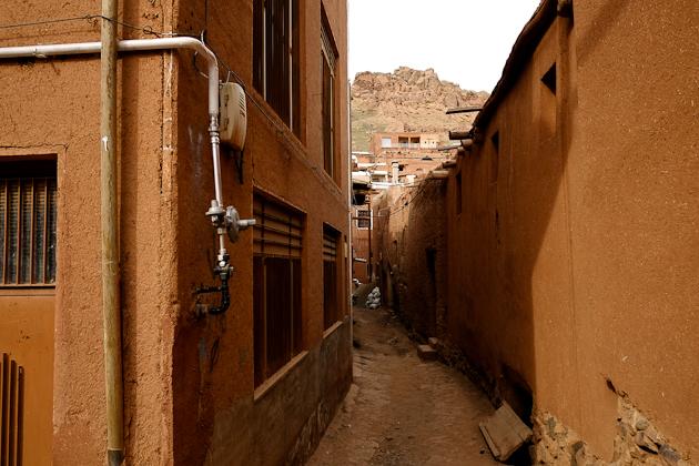 Abyaneh Village, Iran - typical red-hued vistas