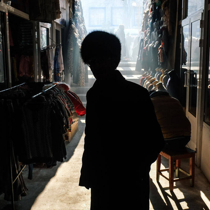Afghan Bazaar, Khojand, Tajikistan.