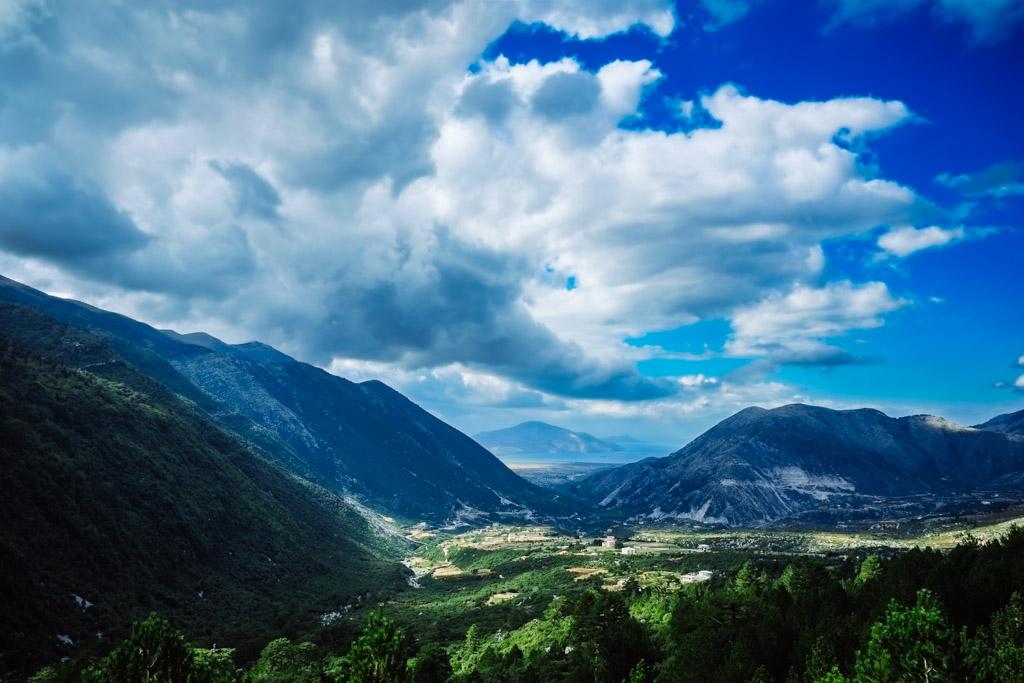 southern albania view