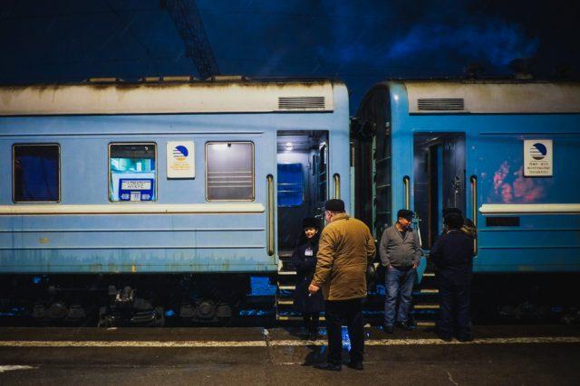 the train from Almaty to Tashkent