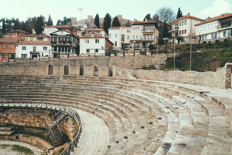 ancient theatre ohrid