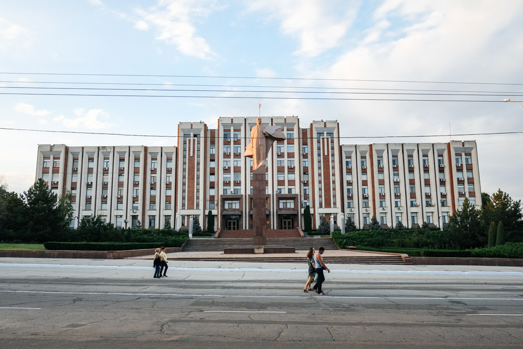 Soviet architecture, Transnistria.
