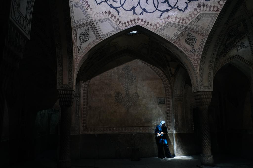 arg karim khan bath shiraz