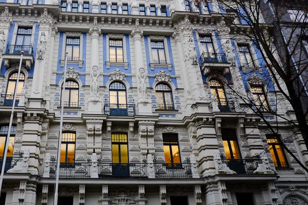 The youthful exuberance of Art Nouveau in Riga, Latvia