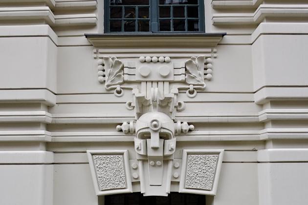 Art Nouveau detail - Riga Latvia
