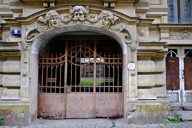 Restoration required - Art Nouveau architecture, Latvia, Riga