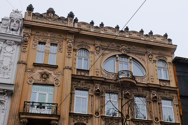 Art Nouveau architecture - Riga - Latvia