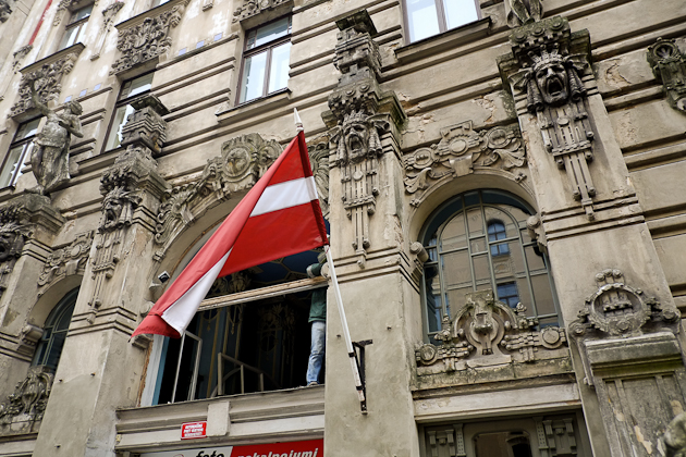 Riga Nouveau Art Architecure