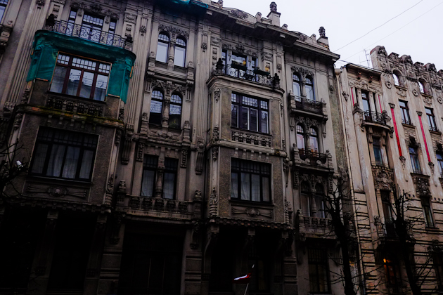 Latvia Art Nouveau Riga Architecture