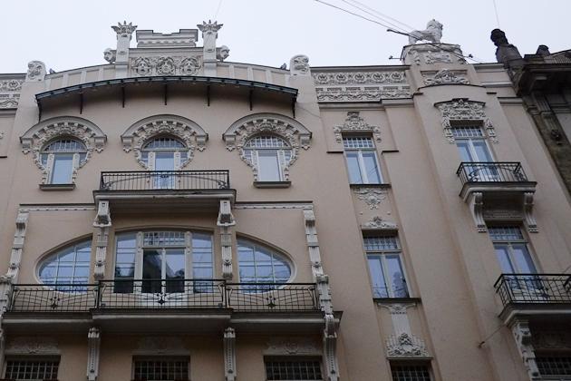 Architecture Latvia Art Nouveau Riga