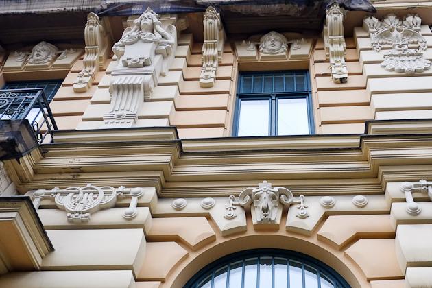 Riga nouveau 20th century architecture