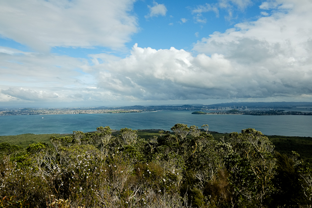 View from Rangitoto - one of the 50 Auckland Volcanoes