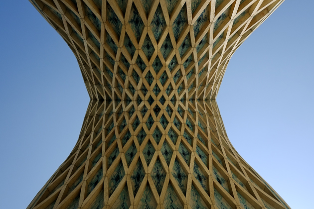 Azadi Tower detail