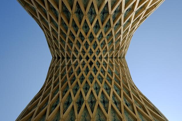 Azadi Tower detail