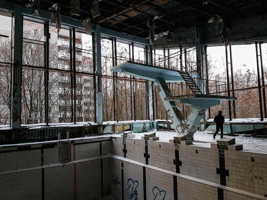 azure swimming pool pripyat