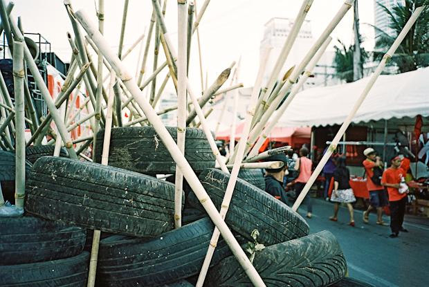 bamboo barrier - Bangkok