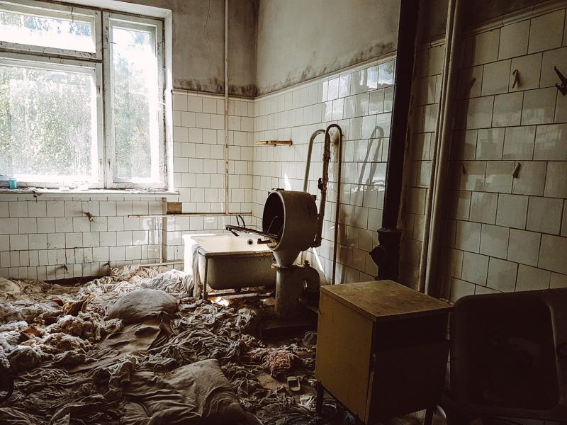 Bandages, Pripyat Hospital.