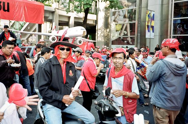 bangkok protesters - red shirts