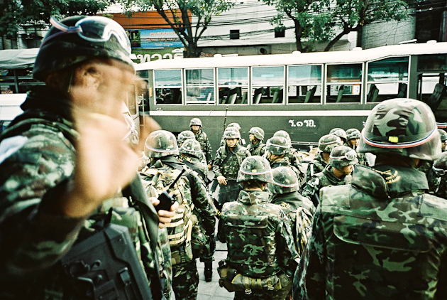 Bangkok Thai Army Soldiers - Victory Monument