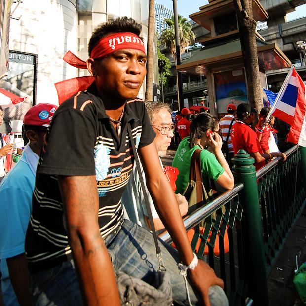 bangkok thai protester