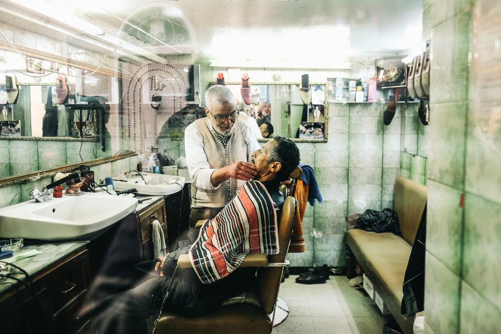 barbershop tunisia medina