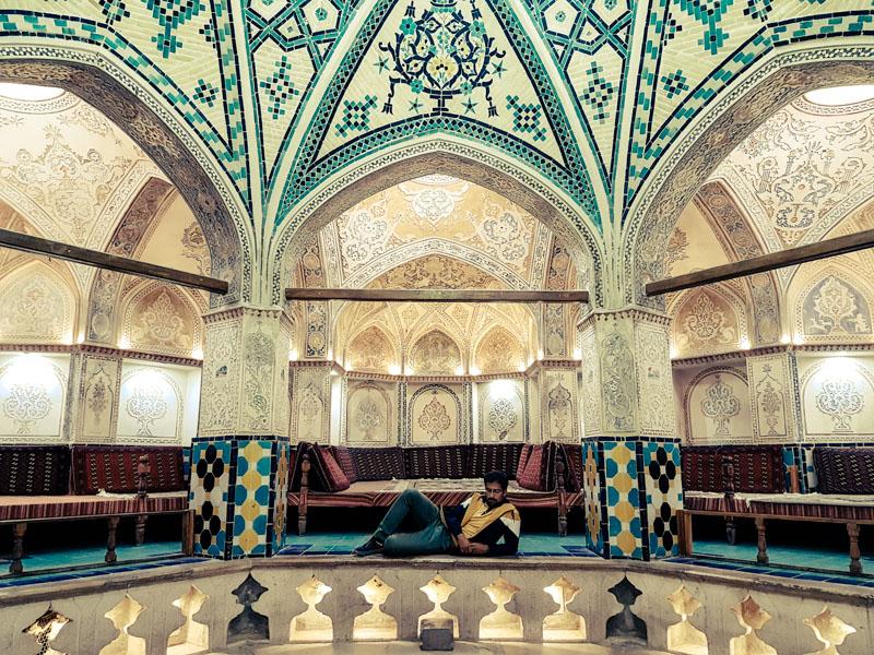 bath house kashan
