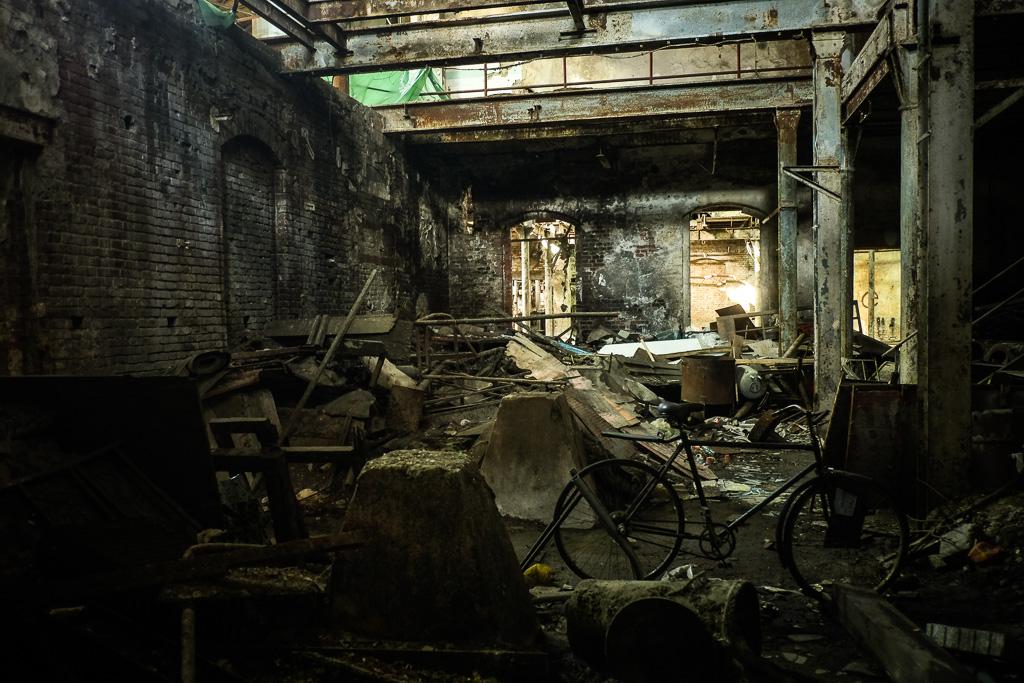 belgrade abandoned factory