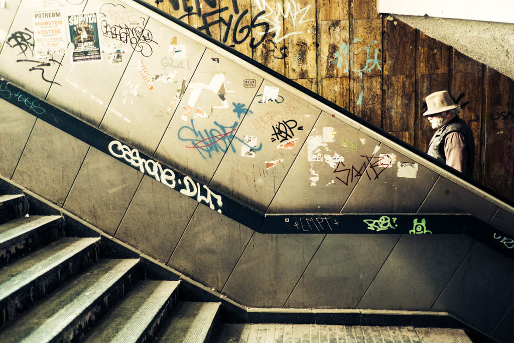 Underground Belgrade, Serbia.