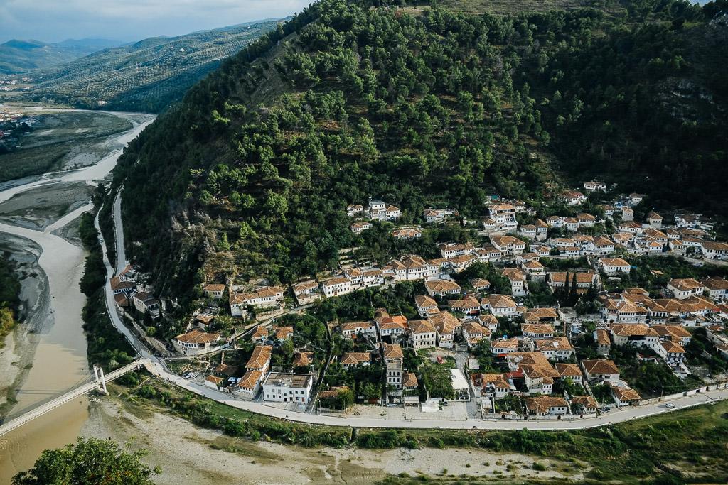 berat view from citadel