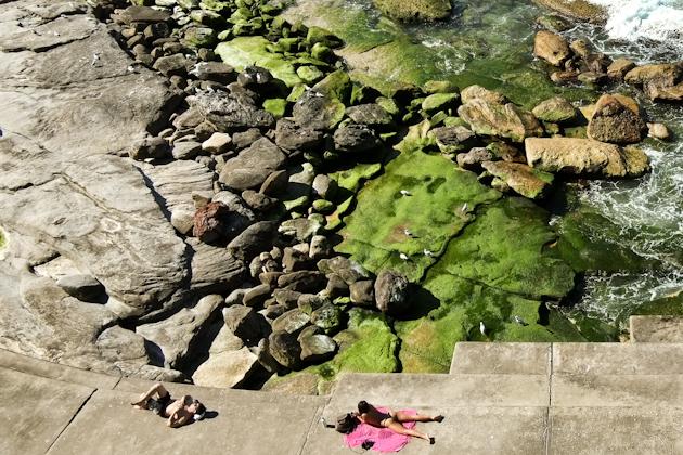 Topless at Bondi Beach