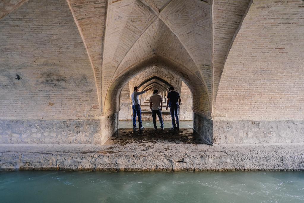 bridge tour esfahan iran
