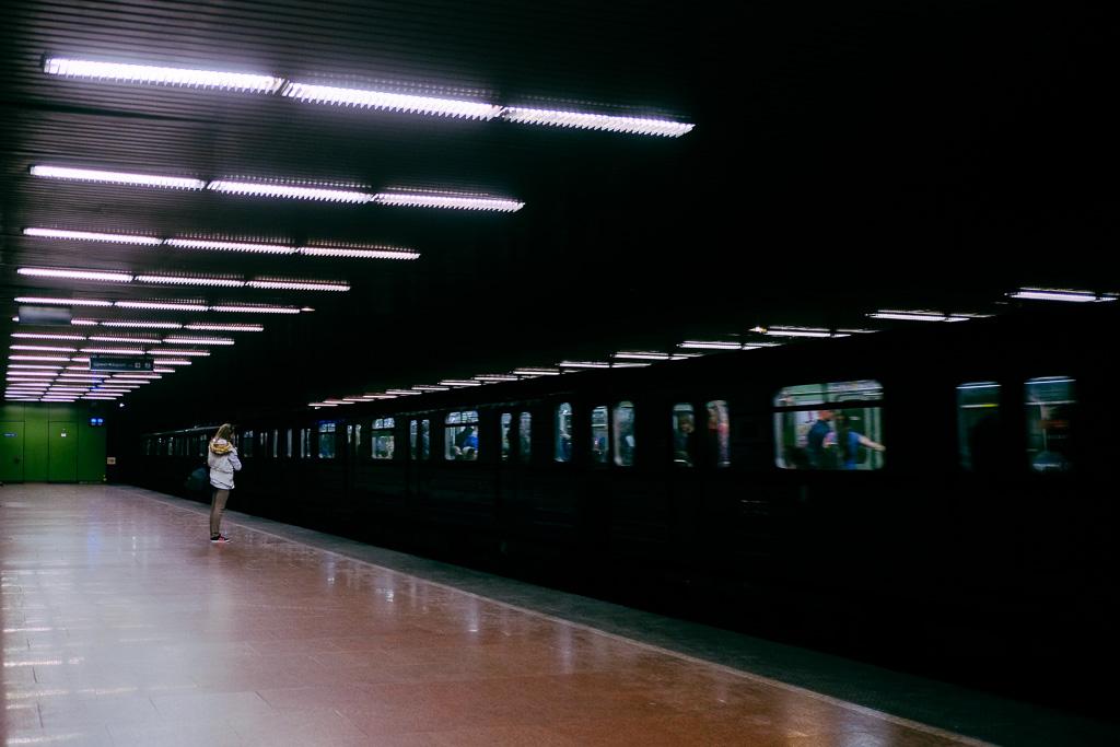 budapest metro interior