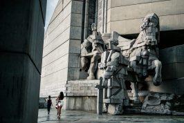 bulgaria communist monument shumen