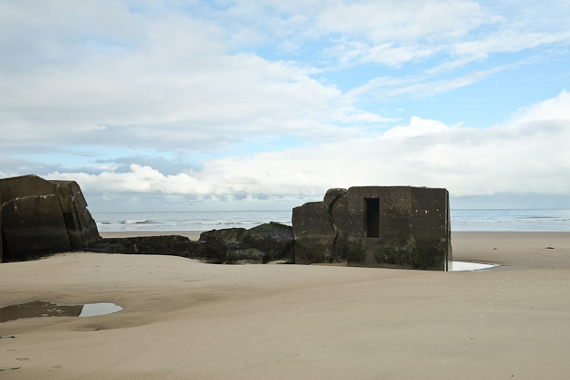 bunkers near wissant france