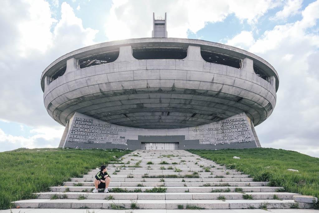 buzludzha, bulgaria. Communist Urbex paradise.