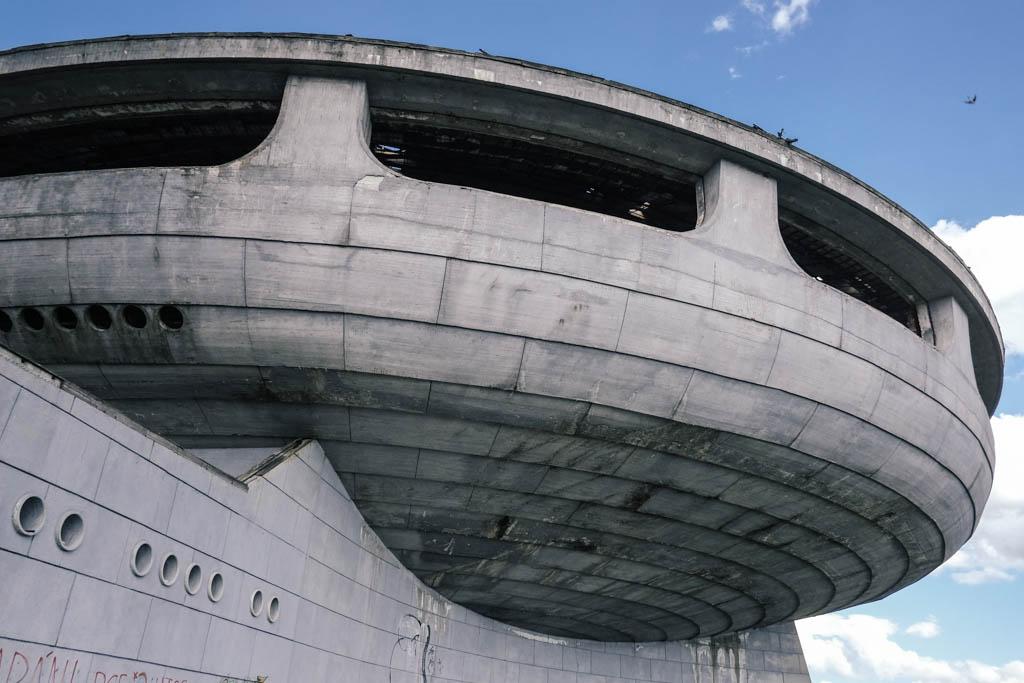 Buzludzha - abandoned communist building