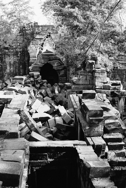 Cambodian temple, Beng Melea