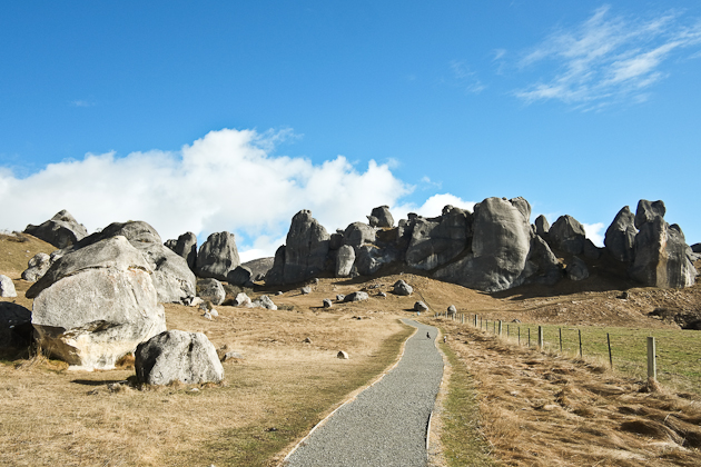 castle hill new zealand - rock climbing paradise