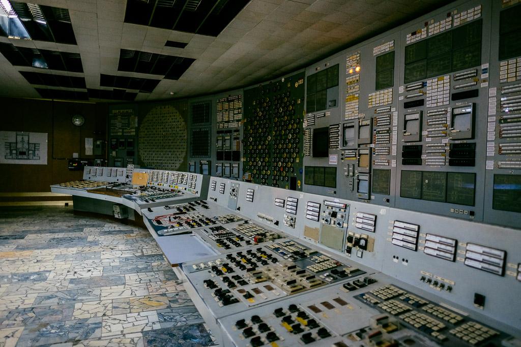 chernnobyl reactor tour