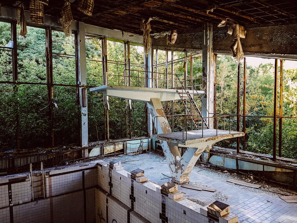 chernobyl diving board pripyat