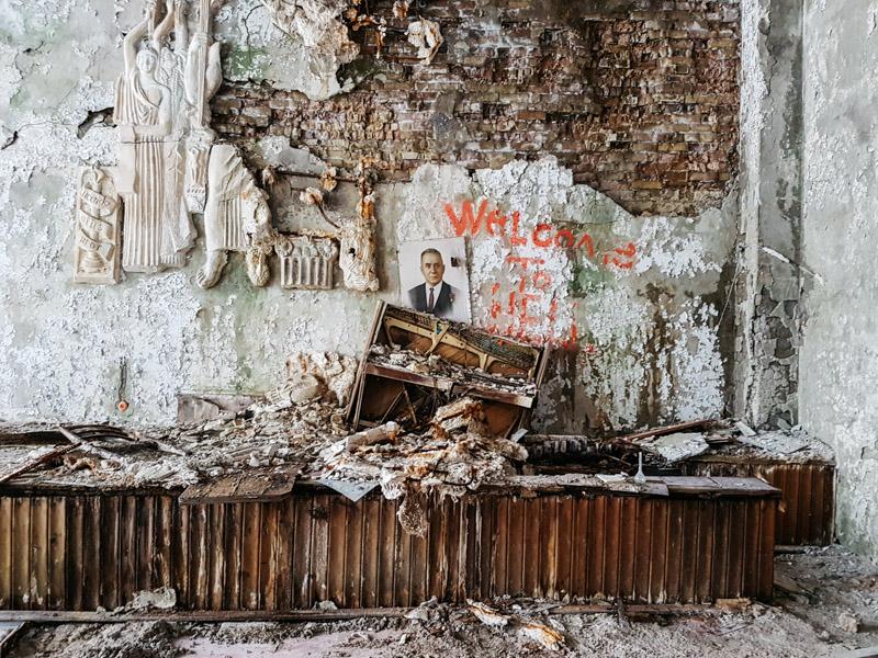 chernobyl piano