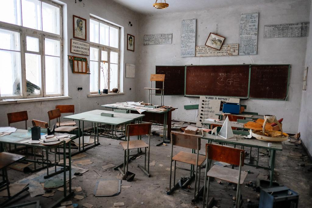 chernobyl school tourist