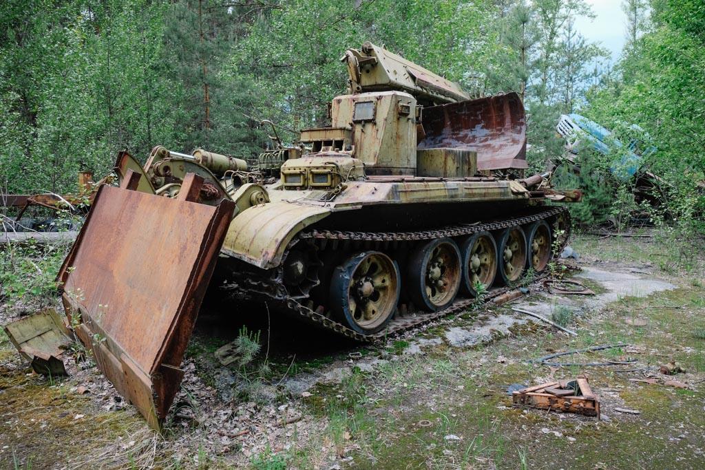 chernobyl tank