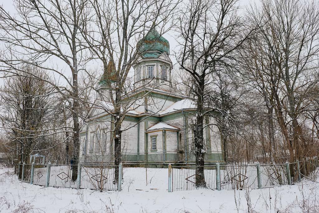 church in chernobyl