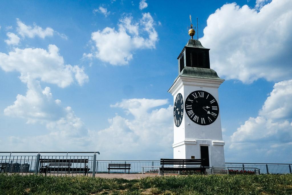clock tower novi sad fortress