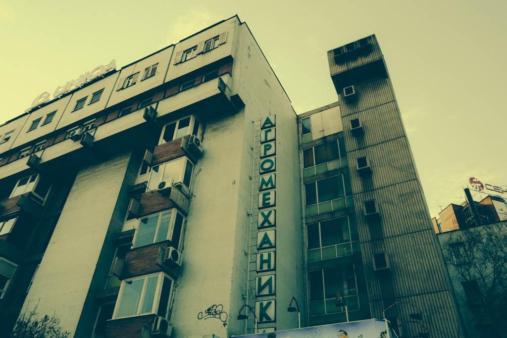 communist apartment building
