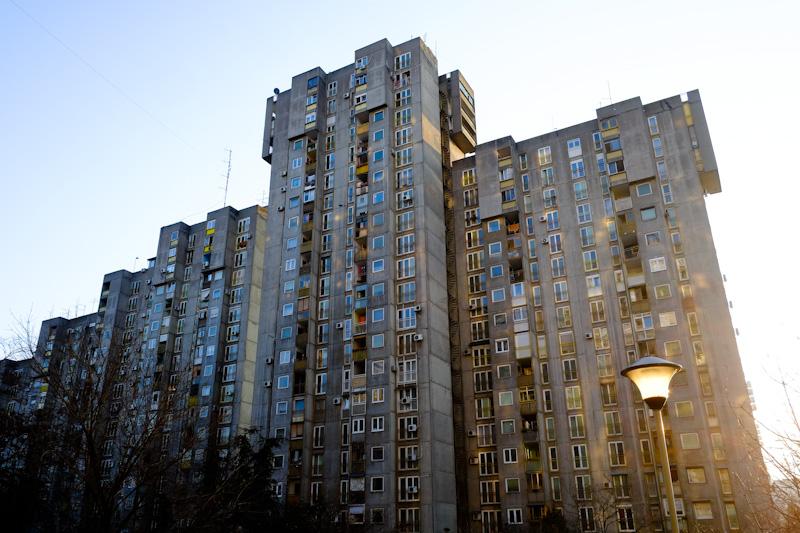 Communist architecture blok 62