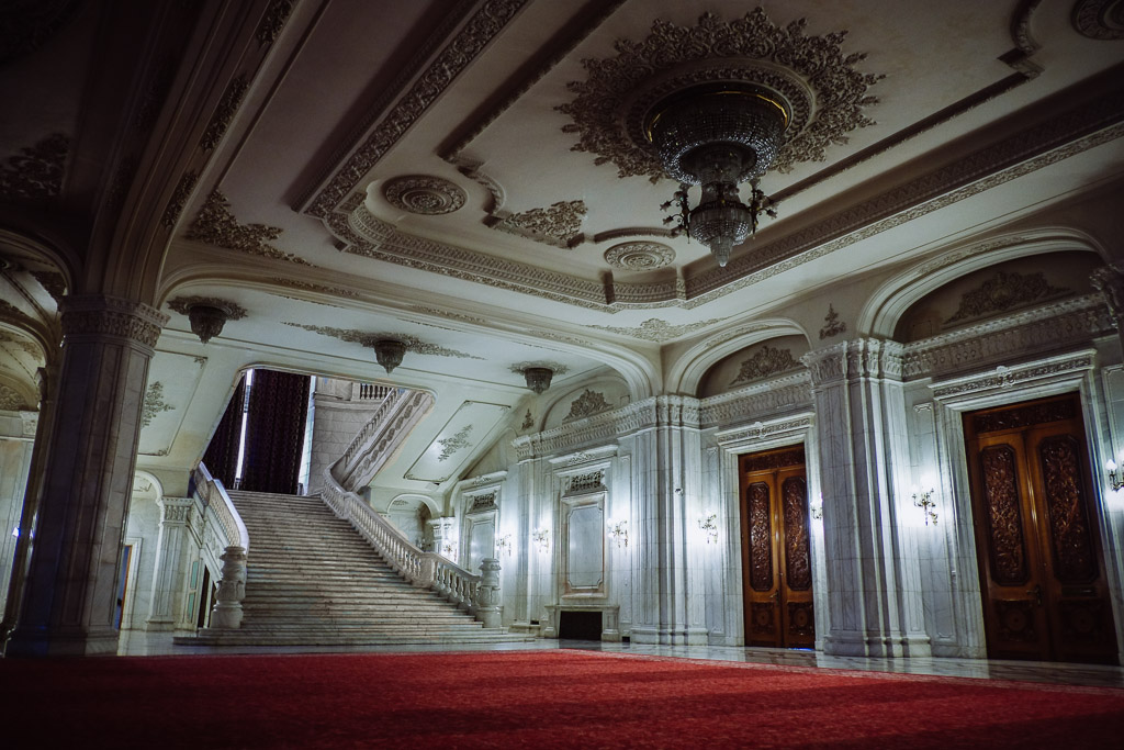 communist architecture - interior of the palace