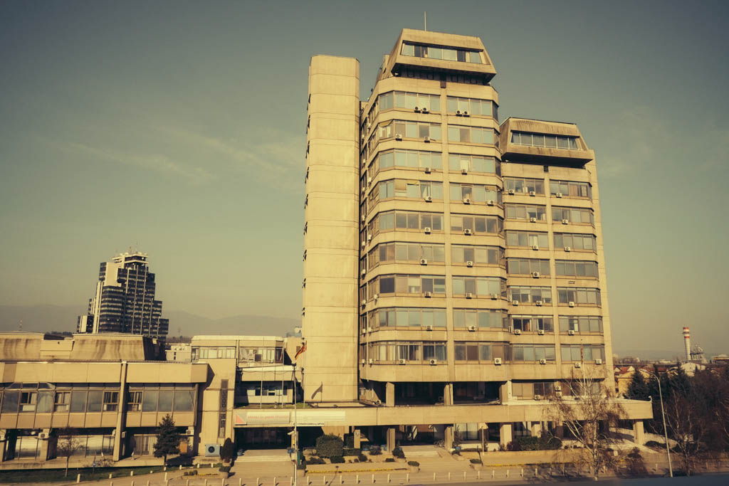 communist era architecture macedonia